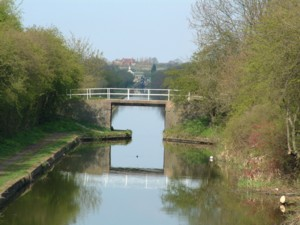 Moat Bridge on the Rushall Canal. Walsall, UK